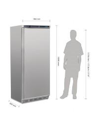 Armoire réfrigérée négative inox Polar Série C 600L