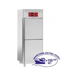 Armoire réfrigérée bi-températures - 2 x 350 litres - 2 x 1/2 porte GN 2/1