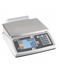 Balance à portions, charge utile maximum 30 kg, lecture 10 g