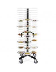 Structure pour 96 assiettes de 180-240mm, espac.65mm