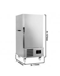 Chariot réfrigéré négatif pour banquet - 12 x GN 2/1 - T° -8/-20°C