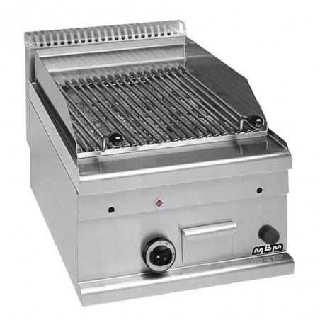 Grill charcoal gaz à poser, grille poisson - MBM