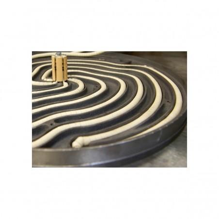 Crêpière professionnelle électrique Krampouz double diamètre 35 cm Gamme Confort - châssis carré
