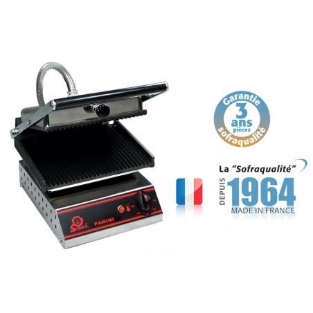 Panini grills - Spécial Sandwich - Petit modèle 400 V plaque inférieure et supérieure lisses