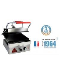 Infra grills - Spécial grillades 400 V plaque inférieure et supérieure rainurées