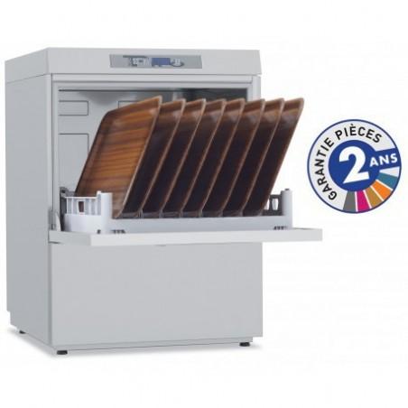 Lave-vaisselle professionnel de la gamme PROTECH modèle PRO611A avec adoucisseur système Carefree