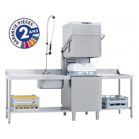Lave-vaisselle professionnel à capot de la gamme PROTECH modèle PRO811