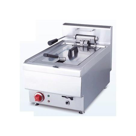 Friteuse professionnelle AFI électrique simple 12.5 L modèle JUS-TEF-1 Gamme Cuisson Top 650