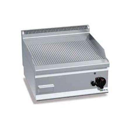 Grill professionnel AFI à gaz plaque rainurée à poser 8 kW modèle G6FR6B