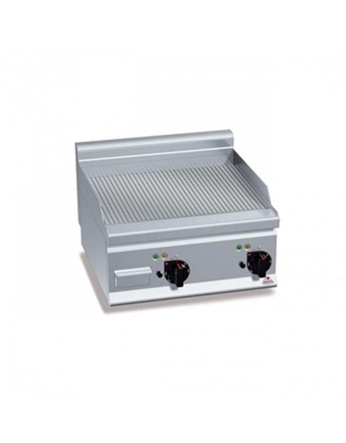 Grill professionnel afi lectrique plaque rainur e poser 5 4 kw mod le e6fr6bp 2 chr master - Grill electrique professionnel ...