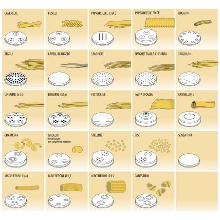 Filière pour machine à pâte MPF/4N