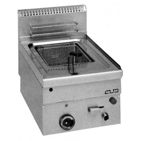 Friteuse professionnelle gaz à poser 1 cuve - 8 litres - MBM