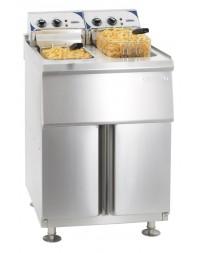 Friteuse haut rendement électrique sur pieds 2 x 10 litres