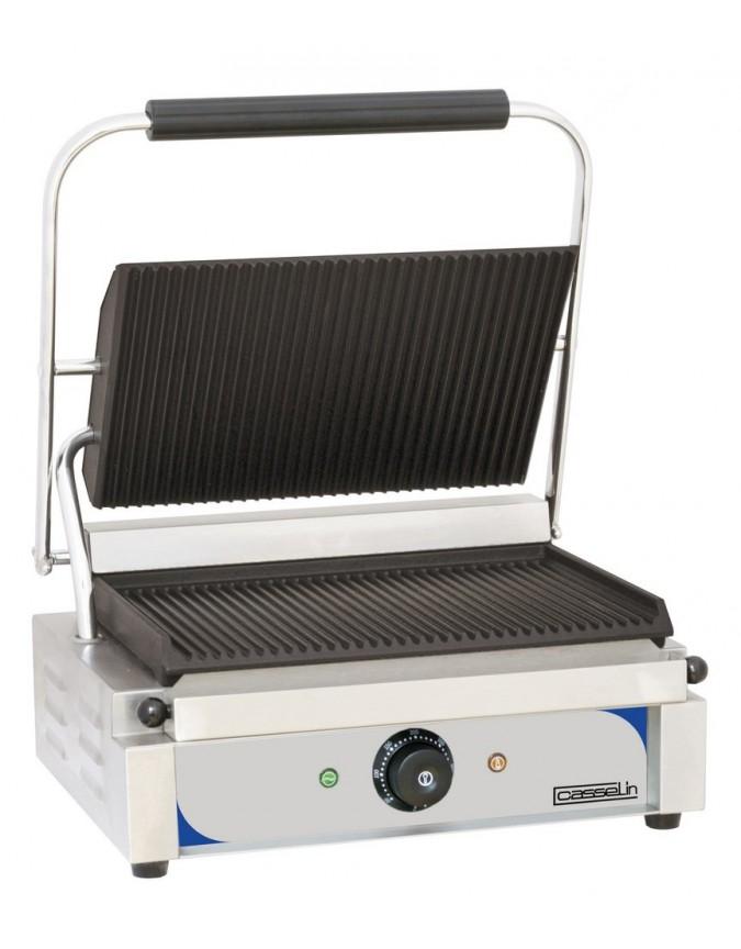 grill panini professionnel casselin mod le plaques rainur e rainur e chr master. Black Bedroom Furniture Sets. Home Design Ideas