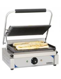 Grill panini professionnel Casselin plaques rainurée-lisse