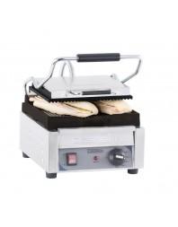 Grill panini professionnel Casselin petit premium plaques rainurée-rainurée