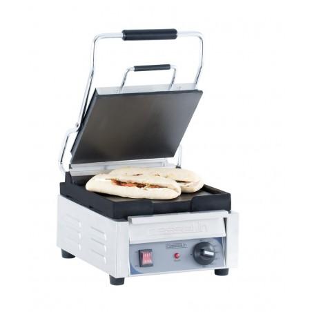 om Grill panini professionnel Casselin petit premium plaques lisse-lisse