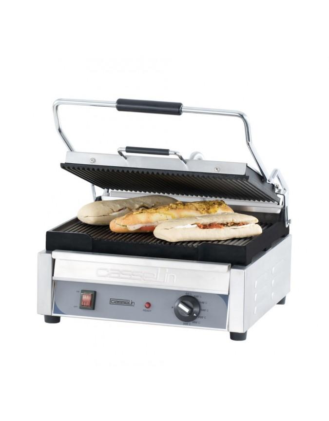 grill panini professionnel casselin grand premium plaques rainur e rainur e chr master. Black Bedroom Furniture Sets. Home Design Ideas