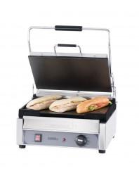 Grill panini professionnel Casselin grand premium plaques lisse-lisse