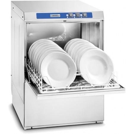 Lave-vaisselle 500 professionnel avec adoucisseur et pompe de vidange intégrés