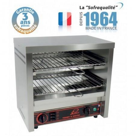 Toaster multifonction avec régulateur - Super Club 2 étages