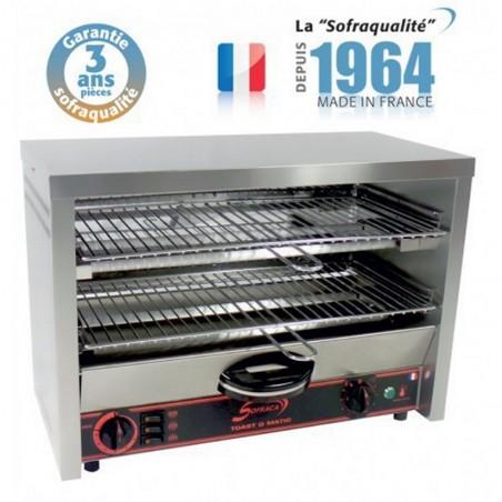 Toaster multifonction avec régulateur - Grand Club 2 étages 230 V
