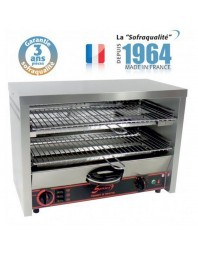 Toaster multifonction avec régulateur - Grand Club 2 étages 400 V - Sofraca