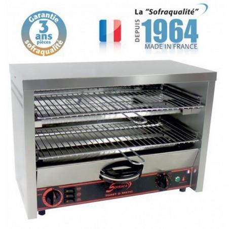 Toaster multifonction avec régulateur - Grand Club 2 étages 400 V