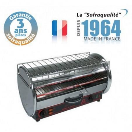 Toaster multifonction avec régulateur - Prestige 1 étage 400 V