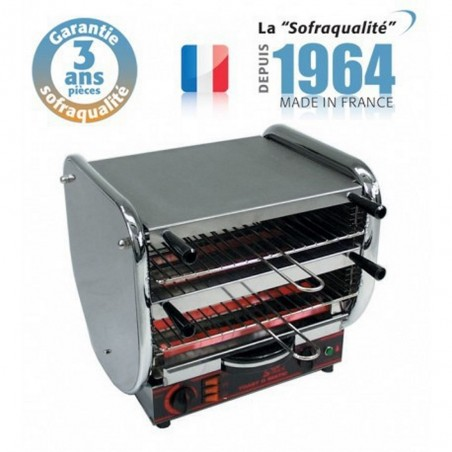 Toaster multifonction avec régulateur - Junior 2 étages 400 V