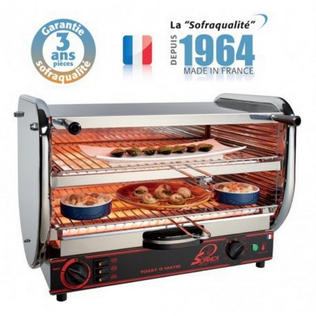 Toaster multifonction avec régulateur - Senior 2 étages 230 V