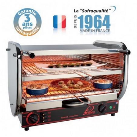 Toaster multifonction avec régulateur - Senior 2 étages 400 V