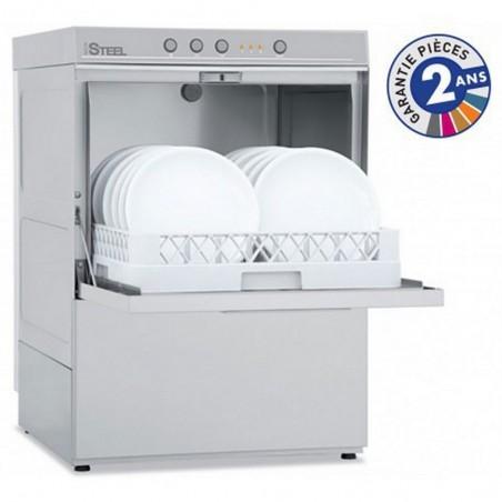 Lave-vaisselle professionnel de la gamme STEELTECH modèle STEEL361A avec adoucisseur