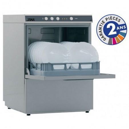 Lave-vaisselle professionnel de la gamme STARTECH modèle STAR605A avec adoucisseur