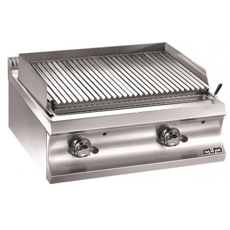 Grill large charcoal gaz à poser - grille viande - MBM