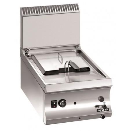 Friteuse professionnelle 1 cuve 9 litres gaz à poser - MBM