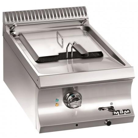 Friteuse professionnelle 1 bac 12 litres électrique à poser - MBM