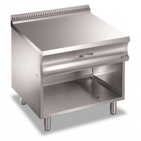 Eléments neutres 70 cm avec tiroir sur support ouvert - Gamme DONIMA 700 - MBM -