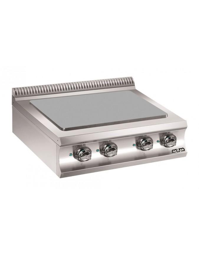 Plaque coup de feu poser lectrique mbm gamme domino 980 chr master - Plaque coupe feu cuisine ...