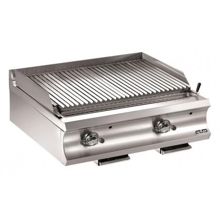 Grill charcoal double gaz version suspendue, grille viande - MBM - DOMINA 980