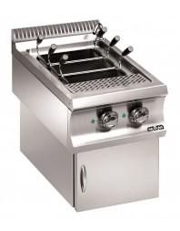 Cuiseur à pâtes professionnel électrique 40 litres sur coffre version suspendue - MBM - DOMINA 980