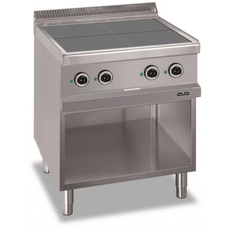 Réchaud sur support ouvert- 4 zones de cuisson intégrées 4 x 2.5 kW - MBM - MAGISTRA 700