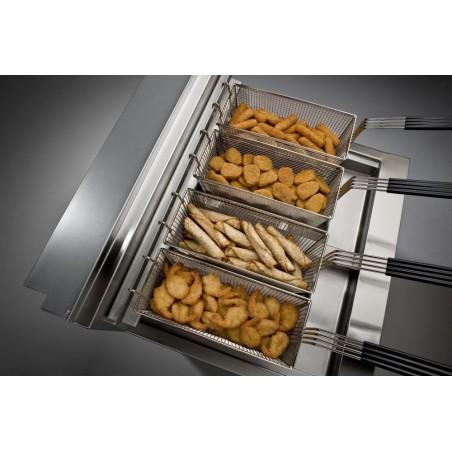 Friteuse haut rendement Henny Penny électrique 2 x 1/2 cuve ( 2x7 litres )- Gamme Evolution Elite