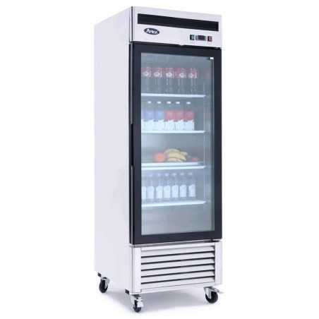 Armoire réfrigérée 1 porte vitrée négative - 610 litres