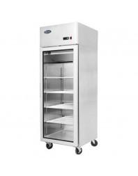 Armoire réfrigérée compacte 600 positive 1 porte vitrée - 450 litres - ATOSA