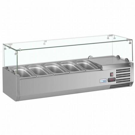 Vitrine à ingrédients réfrigérée à poser - VRX1200/330