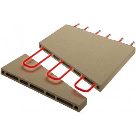 Four électrique Pyralis en version digitale chambre double 6 x ø 30/34 cm - modèle D12L - Pizza Group