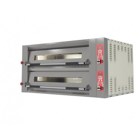 Four électrique Pyralis Up M12en version digitale chambre double 6 x ø 34 cm - Pizza Group
