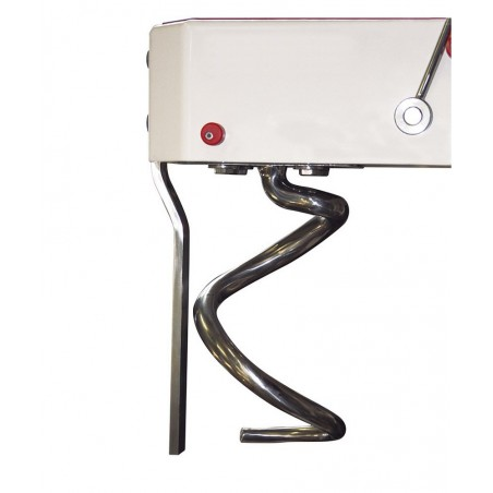 Pétrins à spirale avec tête fixe et cuve fixe - 42 litres - Monophasé - modèle IF42 VS - Pizza Group