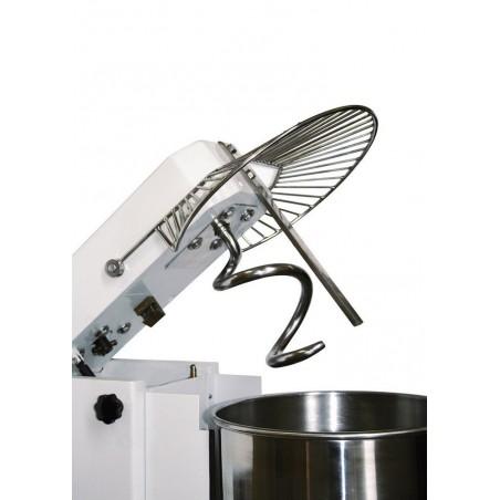 Pétrins à spirale avec tête fixe et cuve fixe -17 litres - Monophasé - modèle IF17 VS - Pizza Group